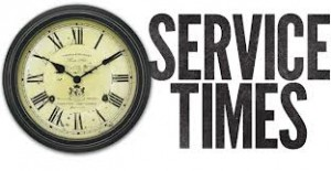 service times.