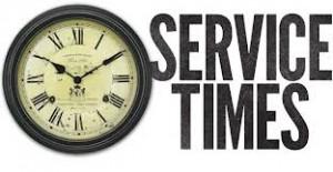 service times.